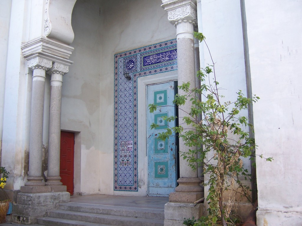 портал мечети